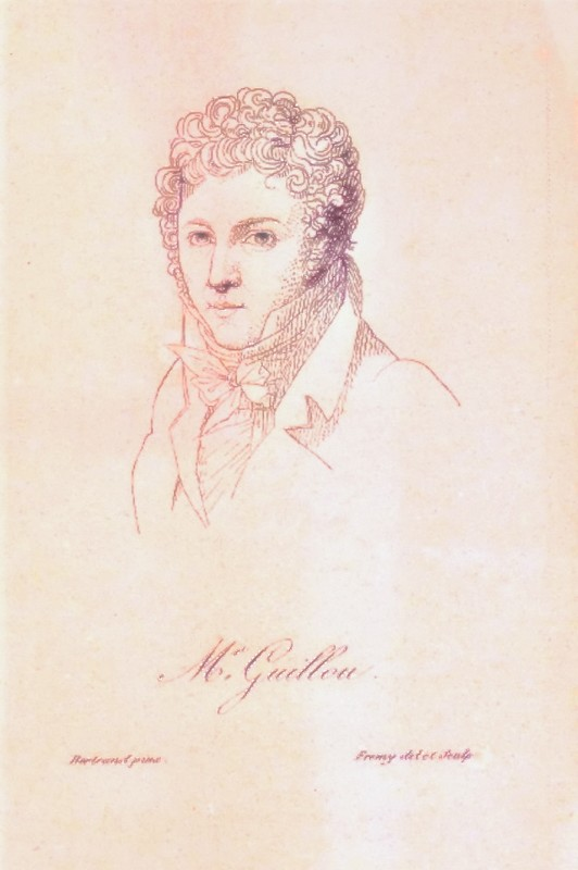 Joseph de Guillou, Paris 1820