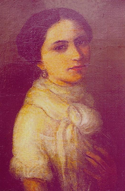 Juliette de Guillou, żona Józefa Eysymonta, Petersburg ok 1855