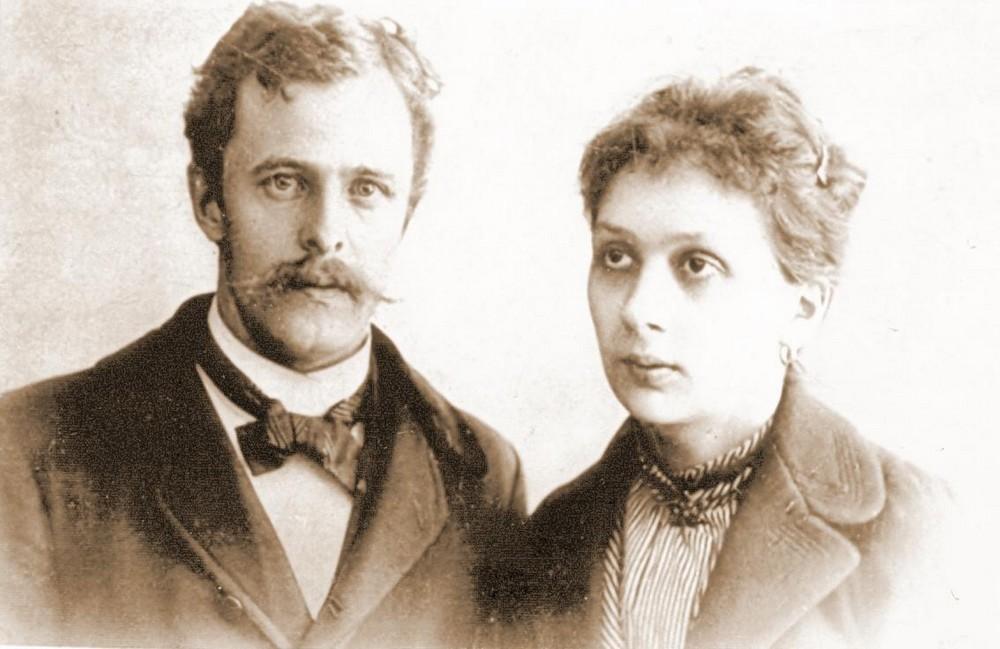 Jan i Maria Zajączkowscy, Lwów, 1899